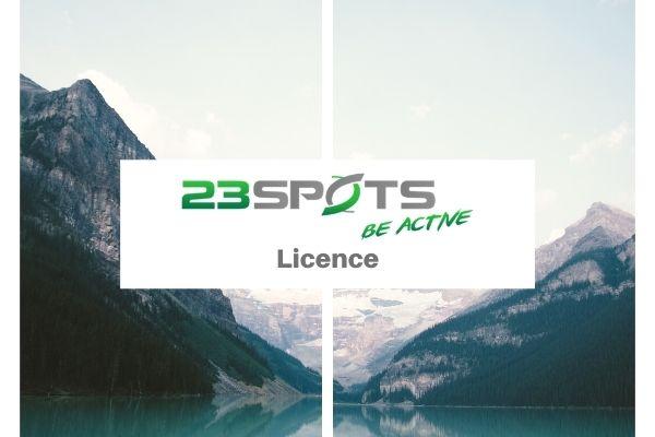 23Spots Lizenz