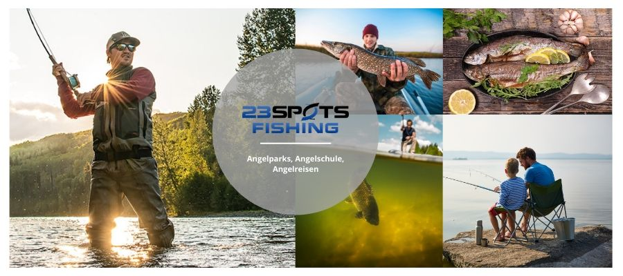 23SpotsFishing Angelsport Konzept